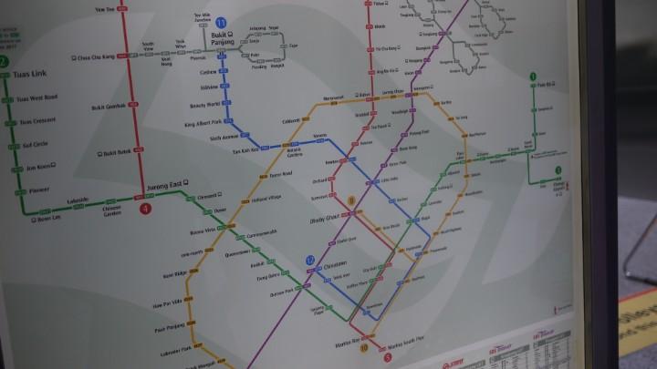 シンガポール地下鉄MRT